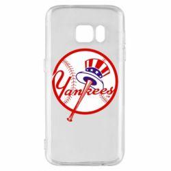 Чохол для Samsung S7 New York Yankees