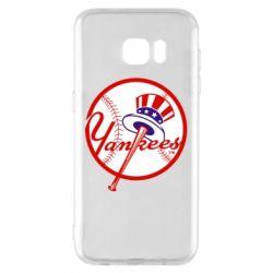 Чохол для Samsung S7 EDGE New York Yankees