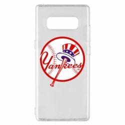 Чохол для Samsung Note 8 New York Yankees