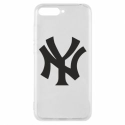 Чехол для Huawei Y6 2018 New York yankees - FatLine