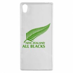 Чехол для Sony Xperia Z5 new zealand all blacks - FatLine