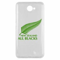 Чехол для Huawei Y7 2017 new zealand all blacks - FatLine