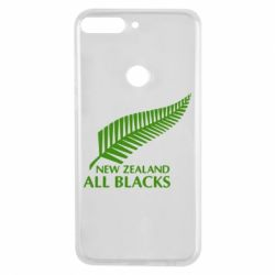 Чехол для Huawei Y7 Prime 2018 new zealand all blacks - FatLine