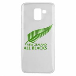 Чехол для Samsung J6 new zealand all blacks - FatLine