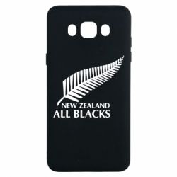 Чехол для Samsung J7 2016 new zealand all blacks - FatLine