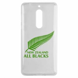 Чехол для Nokia 5 new zealand all blacks - FatLine