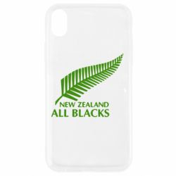 Чехол для iPhone XR new zealand all blacks - FatLine