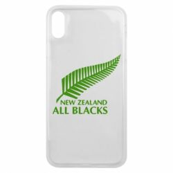 Чехол для iPhone Xs Max new zealand all blacks - FatLine