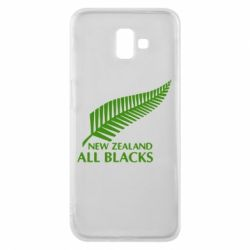 Чехол для Samsung J6 Plus 2018 new zealand all blacks - FatLine