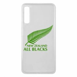 Чехол для Samsung A7 2018 new zealand all blacks - FatLine
