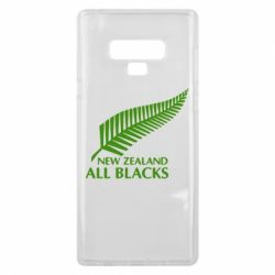 Чехол для Samsung Note 9 new zealand all blacks - FatLine