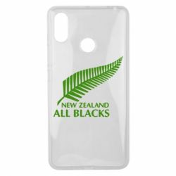 Чехол для Xiaomi Mi Max 3 new zealand all blacks - FatLine