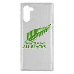 Чохол для Samsung Note 10 new zealand all blacks