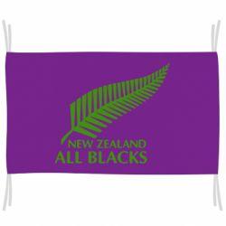 Прапор new zealand all blacks