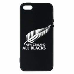Чехол для iPhone5/5S/SE new zealand all blacks - FatLine