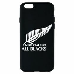 Чехол для iPhone 6/6S new zealand all blacks - FatLine