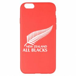 Чехол для iPhone 6 Plus/6S Plus new zealand all blacks - FatLine