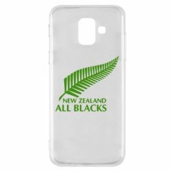 Чехол для Samsung A6 2018 new zealand all blacks - FatLine