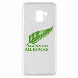 Чехол для Samsung A8+ 2018 new zealand all blacks - FatLine