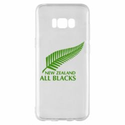 Чехол для Samsung S8+ new zealand all blacks - FatLine