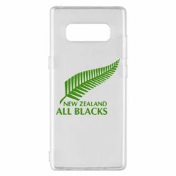 Чехол для Samsung Note 8 new zealand all blacks - FatLine