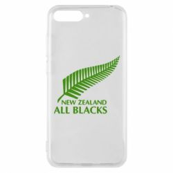 Чехол для Huawei Y6 2018 new zealand all blacks - FatLine