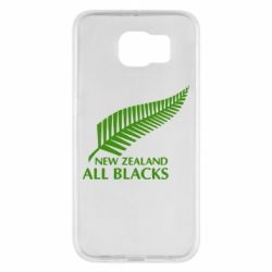 Чехол для Samsung S6 new zealand all blacks - FatLine