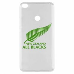 Чехол для Xiaomi Mi Max 2 new zealand all blacks - FatLine