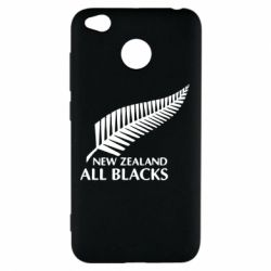 Чехол для Xiaomi Redmi 4x new zealand all blacks - FatLine