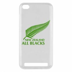 Чехол для Xiaomi Redmi 5a new zealand all blacks - FatLine