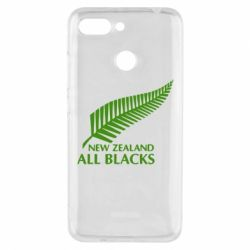 Чехол для Xiaomi Redmi 6 new zealand all blacks - FatLine