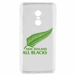 Чехол для Xiaomi Redmi Note 4 new zealand all blacks - FatLine