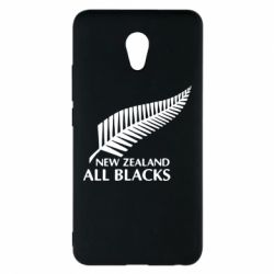 Чехол для Meizu M5 Note new zealand all blacks - FatLine