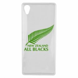 Чехол для Sony Xperia X new zealand all blacks - FatLine