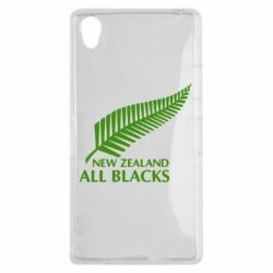 Чехол для Sony Xperia Z1 new zealand all blacks - FatLine