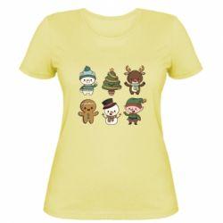 Жіноча футболка Newborn New Year