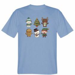 Чоловіча футболка Newborn New Year