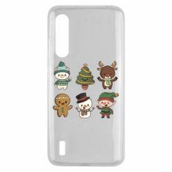 Чохол для Xiaomi Mi9 Lite Newborn New Year