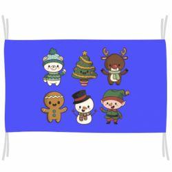 Прапор Newborn New Year