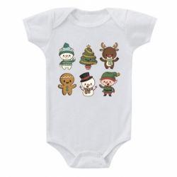 Дитячий бодік Newborn New Year