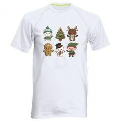 Чоловіча спортивна футболка Newborn New Year