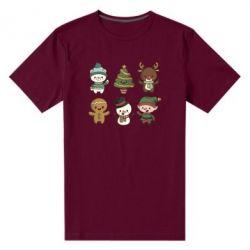 Чоловіча стрейчева футболка Newborn New Year