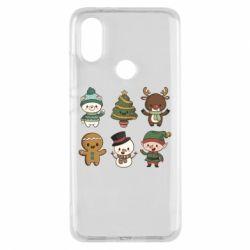 Чохол для Xiaomi Mi A2 Newborn New Year