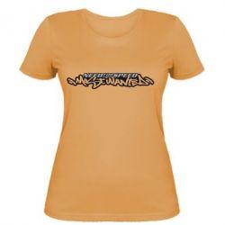 Женская футболка NFS Most Wanted - FatLine