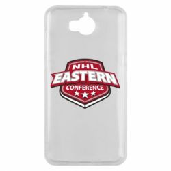 Чехол для Huawei Y5 2017 NHL Eastern Conference - FatLine