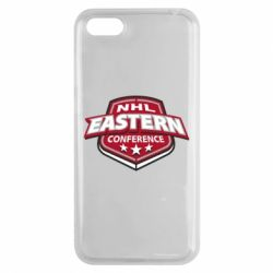 Чехол для Huawei Y5 2018 NHL Eastern Conference - FatLine