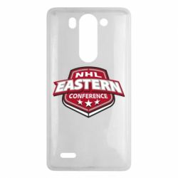 Чехол для LG G3 mini/G3s NHL Eastern Conference - FatLine