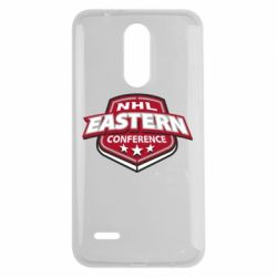 Чехол для LG K7 2017 NHL Eastern Conference - FatLine