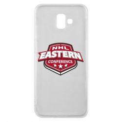 Чехол для Samsung J6 Plus 2018 NHL Eastern Conference - FatLine