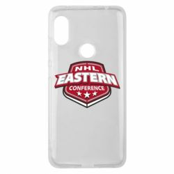 Чехол для Xiaomi Redmi Note 6 Pro NHL Eastern Conference - FatLine